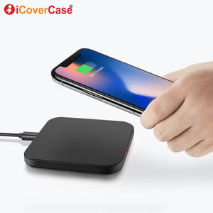 For Samsung Galaxy J4 J4+ J6 J6+ + Plus J8 2018 J2 Pro 2018 J2 J4 Core Wireless Charger Charging Pad Qi Receiver Phone Accessory
