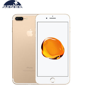 Apple iPhone 7 / iPhone 7 Plus Unlocked Original Quad-core Mobile phone 12.0MP camera 32G/128G/256G Rom IOS Fingerprint phone
