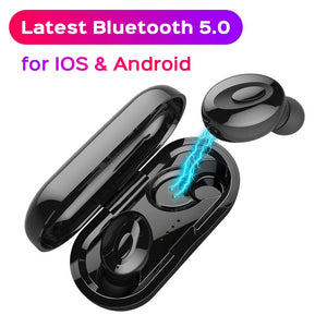 Bluetooth 5.0 Earphones For Xiaomi redmi note 7 mi 9 TWS Wireless Earphone For Oneplus 7 pro Bluetooth Earphones For iphone x 7