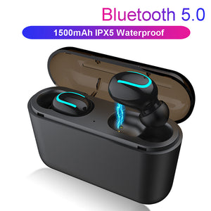 Wireless Headset Bluetooth 5.0 Earphones For Oneplus 6 6T 7 Pro 5T 3T Case Mobile Accessories Earbud noise canceling headphones