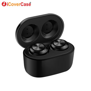 Bluetooth Earphones For Huawei p30 p20 pro p8 lite 2017 p9 lite mini p10 plus p smart Wireless Headphones Headset Accessory Case