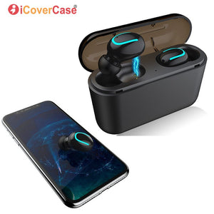 Twins Wireless Earbuds Bluetooth Earphone for Huawei P30 P30 Pro P20 Lite Mate 20 10 P10 Plus P9 P8 Lite 2017 with Charging Box