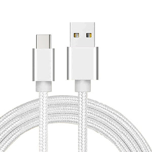 REZ USBC Type C USB Cable For Samsung S10 S9 Plus Huawei P30 Pro TypeC Cable Phone Fast Charge USB C Cord for Xiaomi USBC Cable