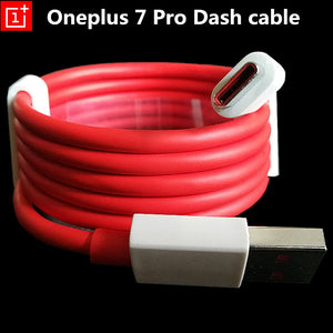 Original Oneplus 7 Dash cable 1M USB 3.1 Type C Quick Fast Charger Cable For Onplus 7 Pro 6 6t 5 5t 3 3t