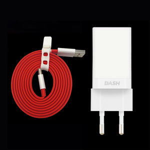 Original for OnePlus 7 Pro 1M Type-C Dash Charger Cable+5V 4A Dash Fast Charging Adapter for OnePlus 7 6T 6 5T One Plus 3T 3 1+5