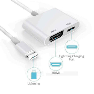 for Lightning to HDMI adapter cable digital AV TV for iPhone 6 7 8 Plus X XS XR for Ipad