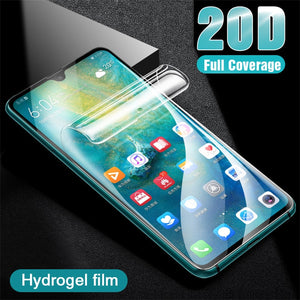 20D Hydrogel Protective Film For Huawei P20 P30 P10 Lite Pro Nova 3E Screen Protector For Huawei Mate 20 10 Lite Pro Not Glass