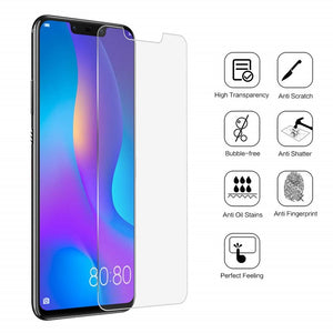 Tempered Glass Film for Huawei P20 Lite Pro Mate 20 Lite P30 P10 Lite P Smart 2019 P8 P9 Lite 2017 Screen Protector Glass 9H