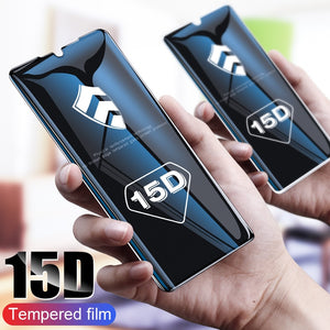 ZNP 15D Screen Protector Tempered Glass For Huawei P30 P20 P10 Lite Huawei P20 Pro Protective Glass For Huawei Mate 20 Lite Film