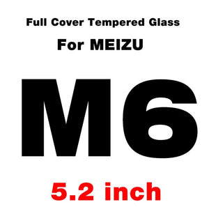 GonoRack Full Cover Tempered Glass for Meizu M3s M6s M5s M5C M3 M5 M6 Note Screen Protector MX6 Pro 6s U10 U20 Protective Film
