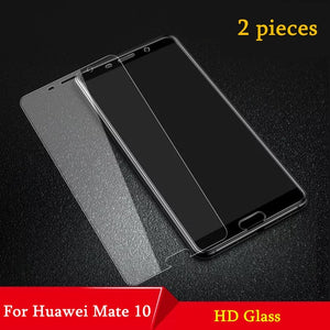 2Pcs/lot Full Tempered Glass For Huawei Mate 10 Screen Protector Mate 10 20 Lite Explosion-proof Glass for huawei mate 10 pro