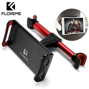 "FLOVEME 4""-11"" Car Back Seat Phone Tablet PC Holder For iPhone Samsung iPad 360 Degree Rotation Car Mount Headrest Bracket Stand"