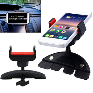 Universal CD Slot Car Mount Holder Stand for iPhone Samsung Smart Phone GPS for Any Mobile Phone Stand Holder