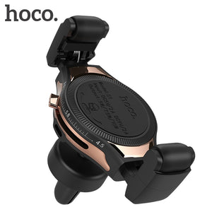 HOCO Car Mount Qi Wireless Charger for iPhone XS Max X XR Quick Charge Fast Wireless Phone Charger Car Holder for Samsung S8 S9