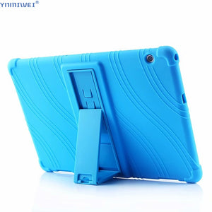 "Silicon Case For Huawei MediaPad T5 AGS2-W09/L09/L03/W19 10.1""Tablet stand cover for huawei mediapad T5 10 Soft case"