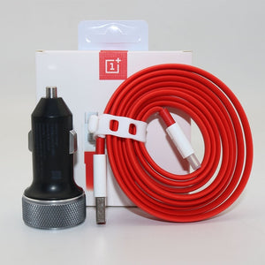 Original OnePlus 6 Car Charger Dash Charge One plus 5T 5 3T 3 Smartphone 100cm/150cm Quick charging usb 3.1 Type C Cable