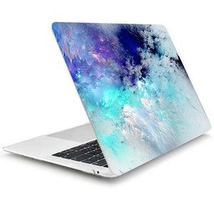 4 in 1 Set Marble Case For Apple MacBook Pro Air 13 15 Inch touch bar 2019 2018 A2159 A1932 A1706 A1990 Hard Cover +free gift