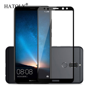 Screen Protector Huawei Mate 10 20 Lite Glass Tempered Glass For Huawei Mate 10 Lite Glass Huawei Nova 2i Honor 9i Full Coverage