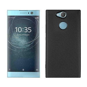 For Sony Xperia XZ1 XZ Premium case  Shockproof Carbon Fiber Ultra Thin Soft TPU phone case for XZ1 compact slicone back cover