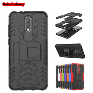 Case For Nokia 6.1 1 2 3 5 6 8 3.1 5.1 7.1 Plus 2018 X3 X5 X6 X7 Shockproof Armor Hard PC Silicone Phone Case Cover Shell Coque