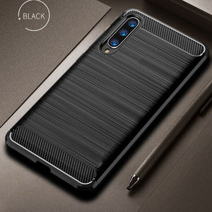 Case for Xiaomi Mi 9 Case Mi9 SE Cover Shockproof Protective Cover Carbon Fiber Silicone Case for Xiaomi Mi 9/ Pocophone F1 Case