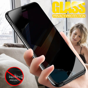 Anti Spy Tempered Glass For iPhone 7 6 6S 8 Plus X XS XR Privacy Screen Protector Film For iPhone 6 7 8 XS Max Protective Glass