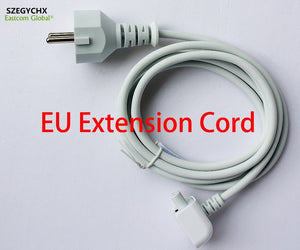 SZEGYCHX Europe Plug 1.8M AC Cord for iPad Power EU Extension Cable for MacBook Mag 45w 60w 85w 29w 61w 87w Charger Adapter