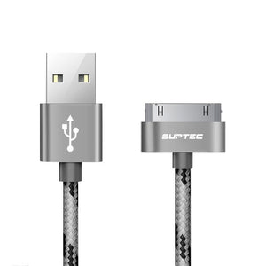 SUPTEC 30 Pin USB Cable for iPhone 4S 4 3GS iPad 1 2 3 iPod Nano itouch Charger Cable 2M 3M Fast Charging Data Sync Adapter Cord
