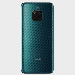 Carbon Fiber For Huawei Mate 20 P30 P20 Pro Lite X Honor 10 8x P Smart plus 2019 Back Screen Protector Sticker Protective Film