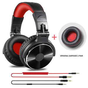 Oneodio Wired Headphones Hifi Computer Headset With Microphone For Xiaomi Professional Studio Monitor DJ Headphone Adapter Free