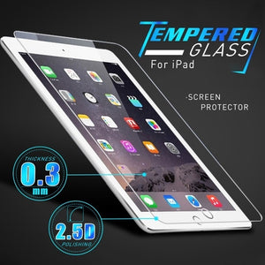 9H Anti-Shock Tempered Glass For iPad 2 3 4 5 6 Air Air2 Air3 Mini 1 2 3 4 5 2019 Screen Protector For Tablet Protective Film