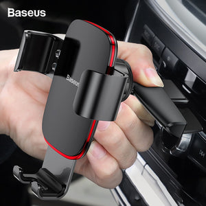 Baseus CD Slot Car Phone Holder Gravity Car Mount Holder For Phone In Car For iPhone Samsung Xiaomi Mobile Cell Phone Car Stand