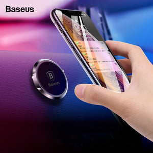 Baseus Car Holder For Phone in Car Magnetic Car Phone Holder For iPhone Samsung Huawei P30 Pro Magnet Mobile Phone Holder Stand