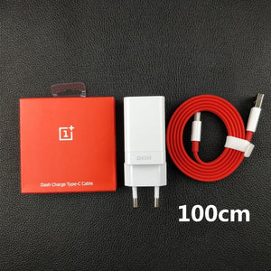Original EU Oneplus 6 Charger Dash Charge 7 6T 5T 5 3T 3 One Plus Smartphone 5V/4A power adaptor Usb 3.1 Type c cable
