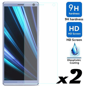 2pcs Tempered Glass Screen Protector For Sony Xperia 10 / Plus Explosion-proof Anti Scratch Films For Sony Xperia 10 10 Plus