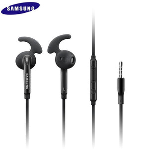 3.5mm Wired Headphone with Mic Remote Volume Control Earphone stereo sport Earbud for Samsung Galaxy S6 S7 edge S8 S9 S10 E PLUS