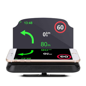 Head Up Display Bracket HUD Auto Cars GPS Navigation Car Navigation Mobile Phone Car Holder Windscreen Projector