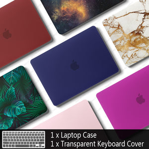 Laptop Case For Apple MacBook Air Pro Retina 11 12 13 15 for mac book 13.3 inch with Touch Bar Sleeve Shell + Keyboard Cover