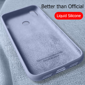 For Xiaomi Mi 9 Case Liquid Silicone Rubber Soft Cover For Xiomi Xiaomi Mi 8 9 SE Explorer Phone Cases Shockproof Coque