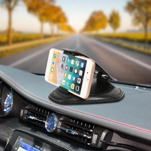 Car Phone Holder Stands Clip Anti Slip Mount Support Dashboard Smartphone GPS Bracket Support Telefoon Holder Auto Accessories
