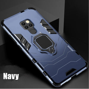 Armor Case For Huawei Mate 20 Hybrid Hard PC TPU Silicone Shockproof Protective Cover For Huawei Mate 20x 20lite 20pro 10 9 Case