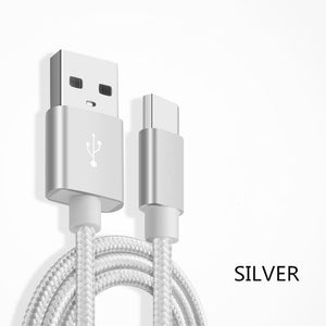 1M/2M/3M Meter Ultra Long Tangle-Free Nylon 8 pin Charger USB Cable Charging Cord Charger for iPhone X XS MAX XR 5 6 6s 7 8 plus