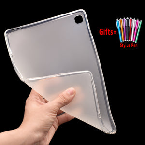 Ultra Slim Case for Samsung Galaxy Tab s5e 10.5 2019 SM-T720 SM-T725 T720 T725 Cover TPU Soft Shockproof Funda Capa Coque +Pen