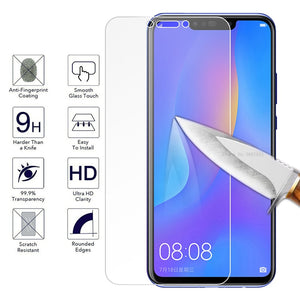 Tempered Glass Film For Huawei Mate 20 10 P20 P30 Lite Nova 3 3i P Smart Mate 20 P20 with White Edge Eliminate Revising Liquid