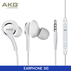 AKG Headphones For Samsung Galaxy S10 Plus S10e Earphones Earbuds Stereo with Volume Control Mic Handsfree In-Ear Wired headsets