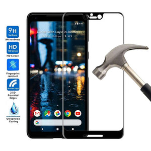 Tempered Glass For Google Pixel 3 2 3A XL 3XL 3 Lite Full Body Glass Film For Google Pixel 3 XL Screen Protector Toughened Film