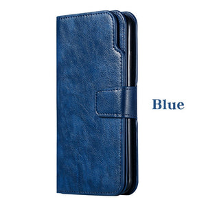 Wallet A10 A30 A40 A50 A70 Flip Stand Cover Leather Case For Samsung Galaxy A3 A5 A7 2016 2017 A6 A8 Plus 2018 Phone Coque Etui
