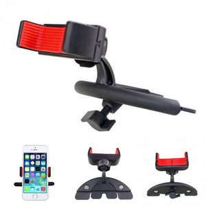 Mini Plastic Car CD Player Slot Mobile Phone Mount Bracket Support Universal PDA GPS Mobile Phone Holder