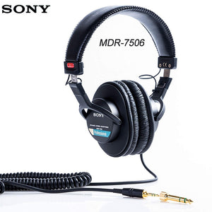 Original Sony Over-Ear Headphones Headset Enclosed DJ Monitor Noise Cancel Earphone 3.5MM/6.3MM For Xperia XZ3  Iphone SAMSUNG