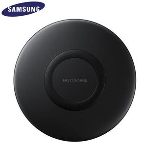 Original Samsung Fast Wireless Charger Stand For Galaxy S10 S9 S8 Plus S7 edge /iPhone 8 Plus X, 10W Qi Charging Pad EP-P1100